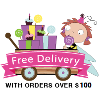 Free delivery with order over $100